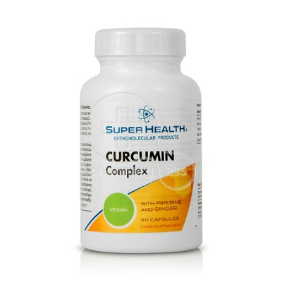 SUPER HEALTH - Curcumin Complex - 60caps