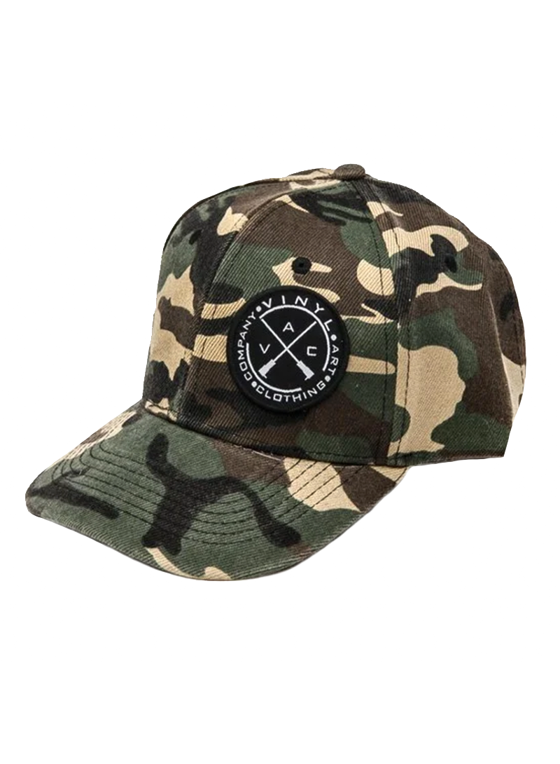VINYL ART CLOTHING ARMY SNAPBACK CAP