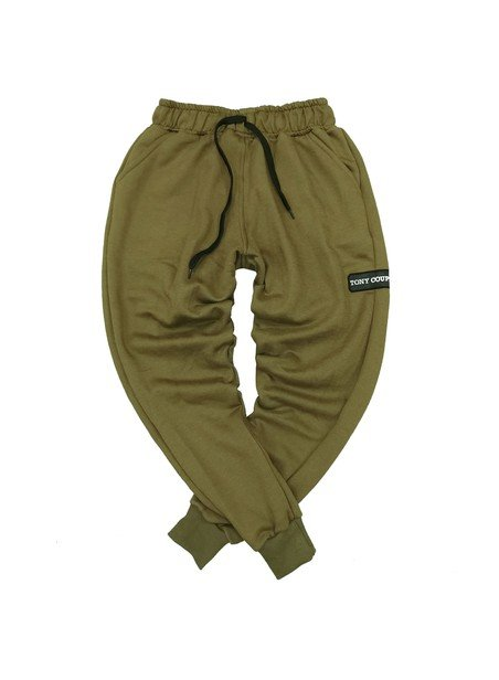 TONY COUPER GREEN CLASSIC TRACKPANTS