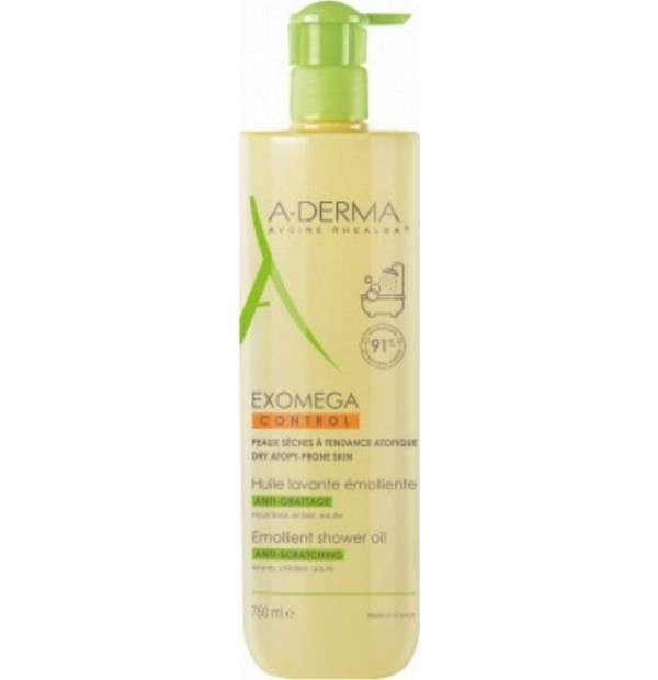 ADERMA EXOMEGA CONTROL  Shower Oil Anti-Scratching 750ml