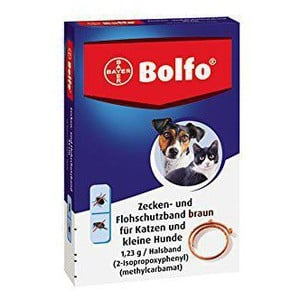 Bayer bolfo antiparasitic collar