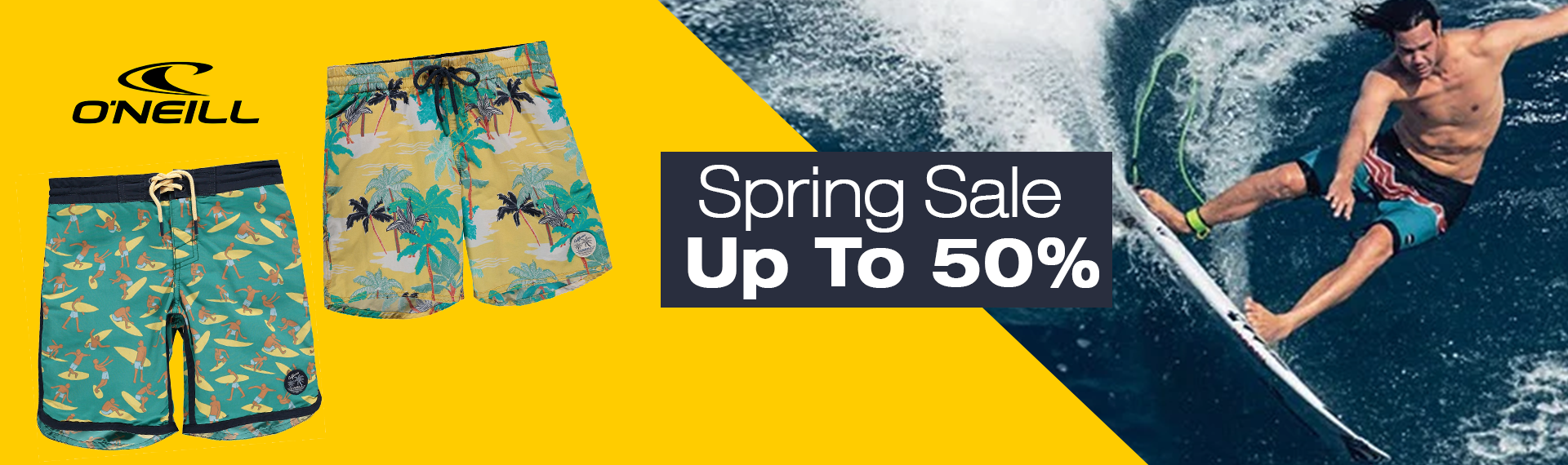 o'neill spring sales up to 50%