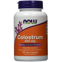 NOW COLOSTRUM 500MG 120VEG. CAPS
