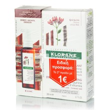 Klorane Σετ Force Tri-Active Antichut, 100ml & Shampoo Quinine, 200ml (Το 2ο με 1€)