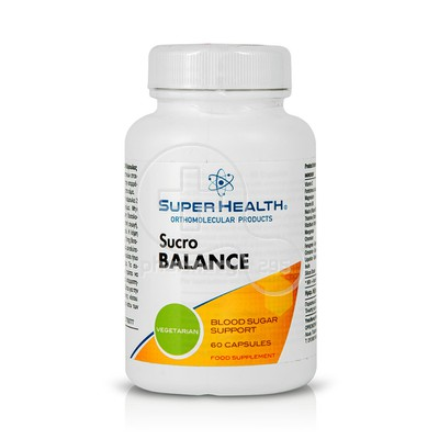 SUPER HEALTH - Sucro Balance - 60caps