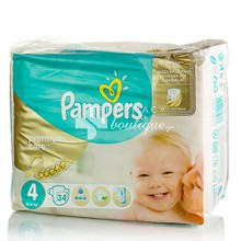 Pampers No.4 (8-14 kg) - Premium Care, 34τμχ.