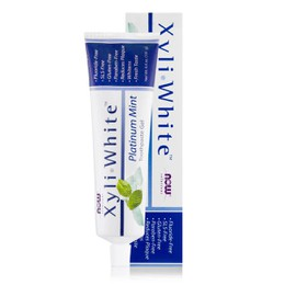 Now Xyliwhite Toothpaste Platinum Mint & Baking Soda , 181 ml