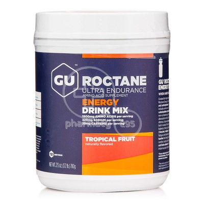 GU - ROCTANE Energy Drink Mix με γεύση Tropical Fruit - 780g