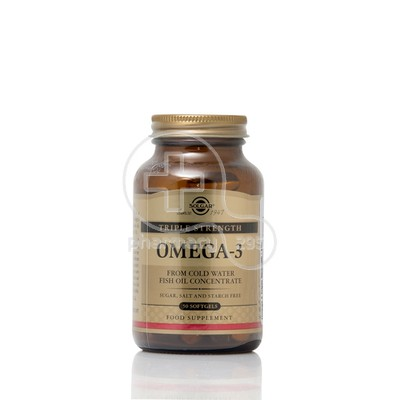 SOLGAR - Omega-3 Double Strength - 60softgels