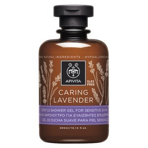 Apivita caring lavender shower gel