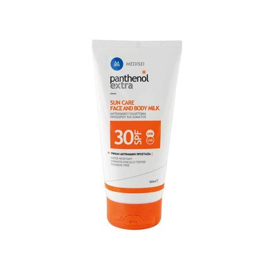 Panthenol Extra - Sun care face & body Milk 30SPF - 150ml