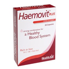 Health Aid Haemovit Plus 30 κάψουλες