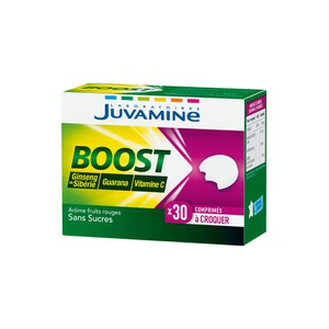 Juvamine vitamin c ginseng of siberia guarana 30 tablets
