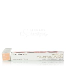 Korres Morello Voluminous Lipgloss - 12 Candy Pink, 4ml