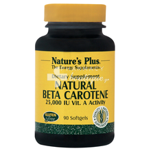 Nature's Plus Natural BETA CAROTENE 25.000 IU - Μάτια, 90 caps
