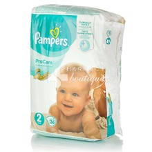 Pampers No.2 (3-6kg) - ProCare, 36τμχ.