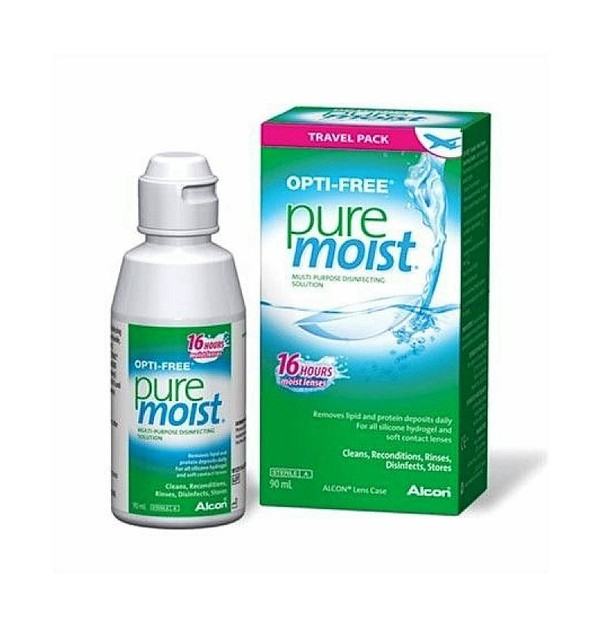 OPTI-FREE PURE MOIST BOTTLE 90ML