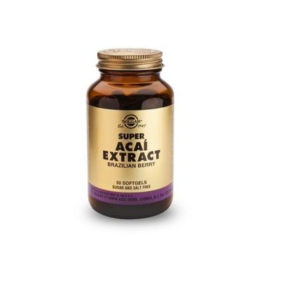 Solgar - Super Acai Extract - 50caps