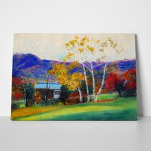 Autumn pastel painting 48433444 a