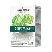 SUPERFOODS SPIRULINA GOLD 300MG 180TABL