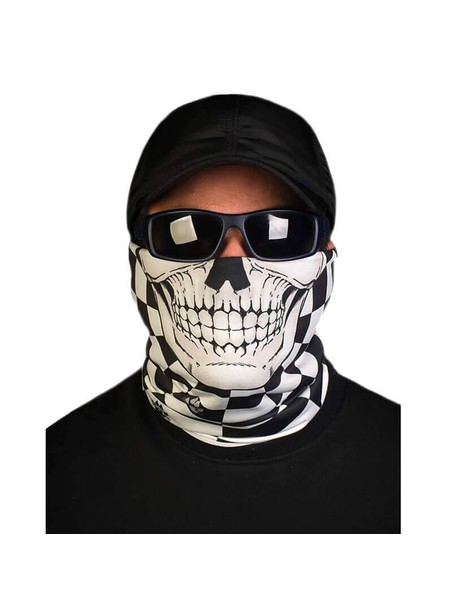 ALPINE THERMAL – RACE FLAG SKULL