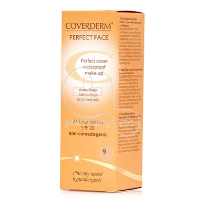 COVERDERM - PERFECT FACE SPF20 Νο9 - 30ml
