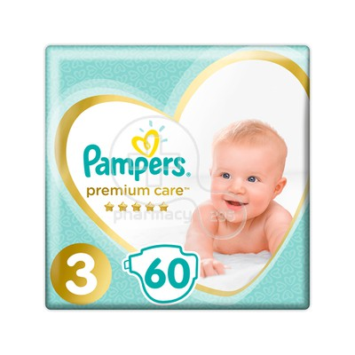 PAMPERS - PREMIUM CARE No3 (6-10kg) - 60 πάνες