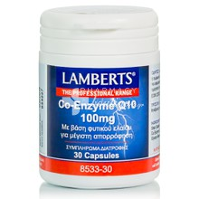 Lamberts Co-Enzyme Q10 100mg, 30caps