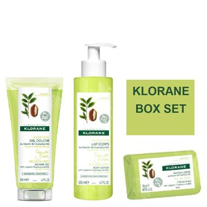 Klorane box set eau de yuzu 200ml