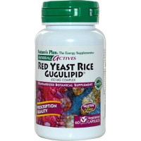 NATURE`S PLUS RED YEAST RICE/GUGULIPID VCAPS 60
