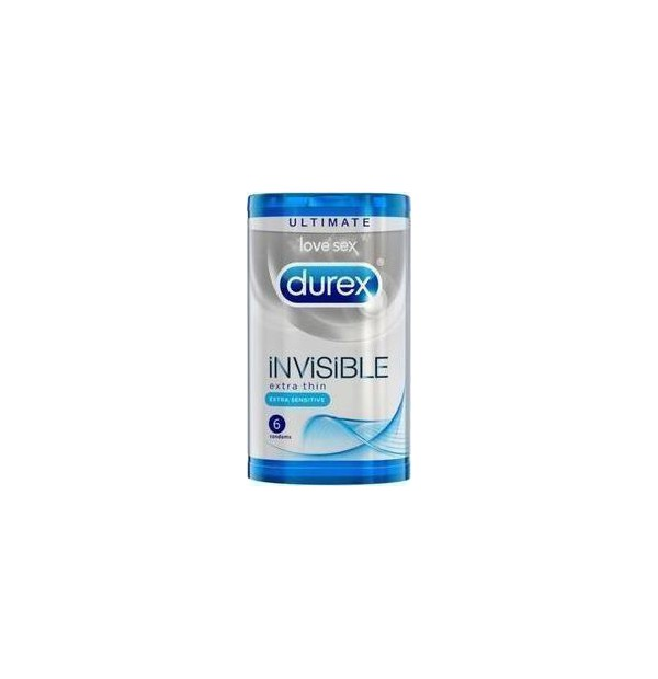 DUREX INVISIBLE 6ΤΕΜ