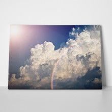 Clouds rainbow