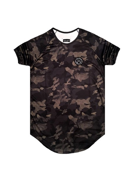 VINYL ART CLOTHING ARMY PRINTED T-SHIRT