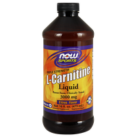 NOW SPORTS L-CARNITINE LIQUID 1000 MG, 473 ML