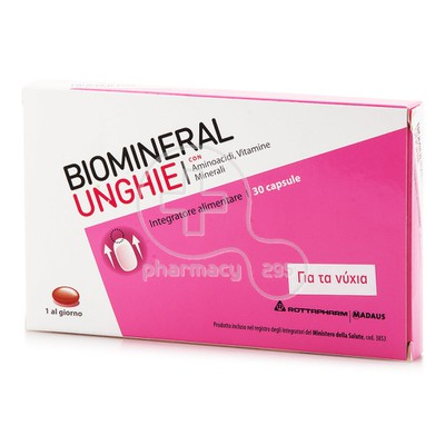 BIOMINERAL - Unghie - 30caps
