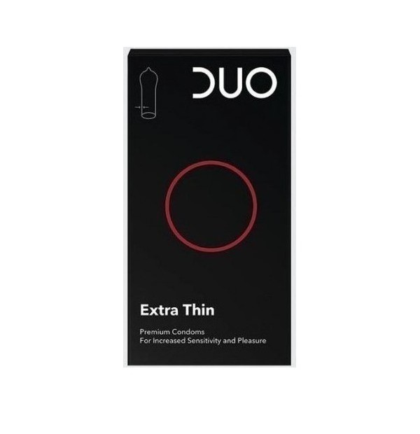 DUO EXTRA THIN EXTRA LUBRICATED 18 ΤΕΜΑΧΙΩΝ ΠΡΟΣΦΟΡΑ -50%