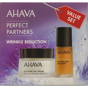 Ahava duo perfect partners wrinkle reduction set