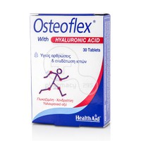 HEALTH AID - OSTEOFLEX with Hyaluronic Acid - 30tabs