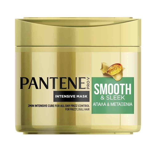 PANTENE ΜΑΣΚΑ ΜΑΛΛΙΩΝ INTENSIVE ΑΠΑΛΑ ΚΑΙ ΜΕΤΑΞΕΝΙΑ 300ML