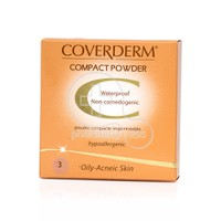 COVERDERM - COMPACT POWDER Oily/Acneic Skin No3 - 10gr