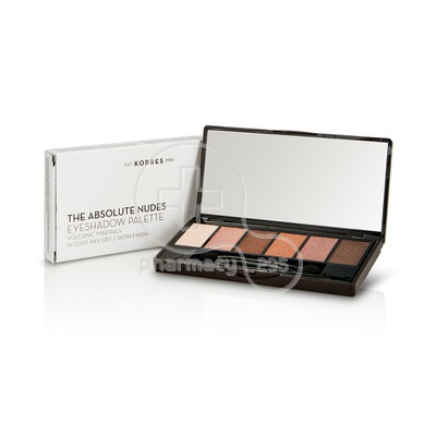KORRES - VOLCANIC MINERAL The Absolute Nudes Eyeshadow Palette - 6gr