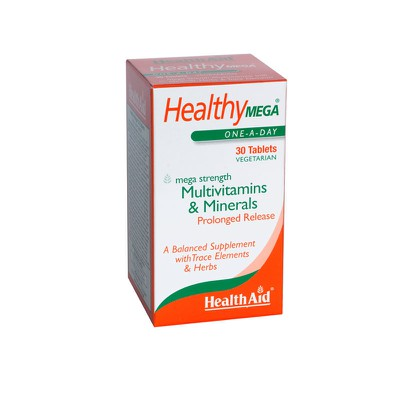 Health aid - Healthy MEGA-multivit - 30tabs