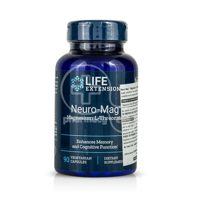 LIFE EXTENSION - NEURO-MAG Magnesium L-Threonate - 90caps