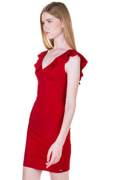 Φόρεμα με βολάν d8fd8efdd00