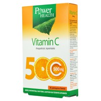 POWER HEALTH VITAMIN C 500MG 36CHEW. TABL