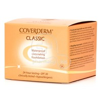 COVERDERM - CLASSIC Waterproof Concealing Foundation SPF30 (No3A) - 15ml