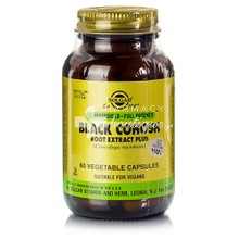 Solgar BLACK COHOSH Root Extract Plus - Εμμηνόπαυση, 60 caps