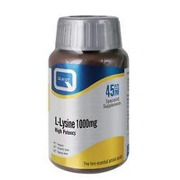 QUEST L LYSINE 1000MG 45 TABS
