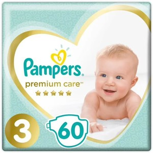 Pampers no3 60 panes