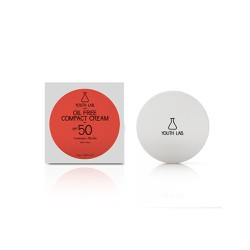 YOUTH LAB. Oil Free Compact Cream SPF50 Dark Αντηλιακή Κρέμα Σε Μορφή Compact Make-Up 10gr